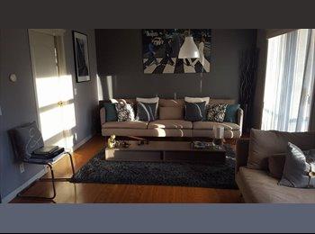 EasyRoommate CA - Room for Rent in Spacious 2 Bedroom 2 Bathroom Downtown Condo, Calgary - $750 pcm