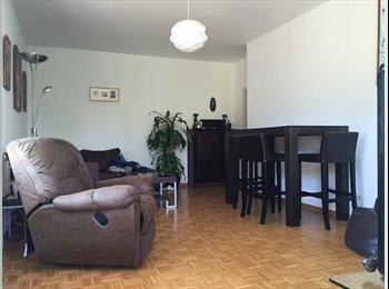 EasyWG CH - Chambre meublée à louer à Versoix à partir du 01.07.16, Genève - 900 CHF / Mois