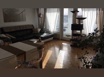 EasyWG CH - Chambre à louer à la semaine jusqu a 6 mois, Genève - 800 CHF / Mois