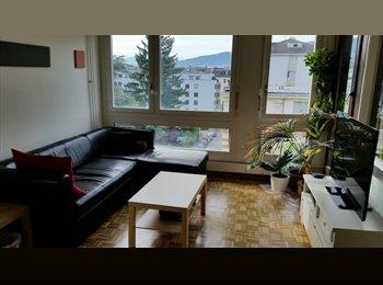 EasyWG CH - Chambre au centre de Genève dans 4.5 pièces sympa, Genève - 740 CHF / Mois