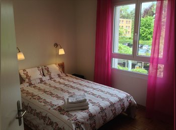 EasyWG CH - Furnished room in large appartment Monday to Friday - Lausanne, Lausanne - 850 CHF / Mois