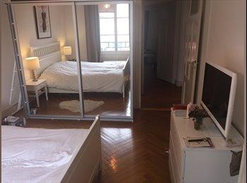 EasyWG CH - Chambre totalement meublée et équipée à louer, Genève - 1200 CHF / Mois