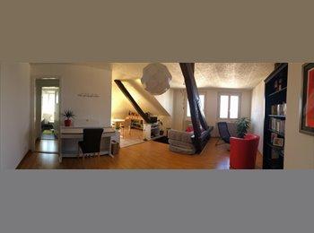 EasyWG CH - Chambre lumineuse et meublée à louer (vue sur lac) - Lausanne, Lausanne - 900 CHF / Mois