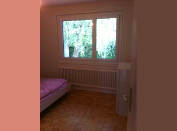 EasyWG CH - Chambre avec salle de bains à louer dans villa à Chambésy - Pregny-Chambésy, Genève / Genf - 1500 CHF / Mois