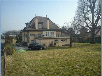 EasyWG CH - Tu rêves de partager une maison avec 5 Super Colocs ?! , Ecublens - 750 CHF / Mois
