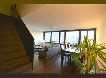 Modern 110sqm apartment in top location close to Hardbrücke