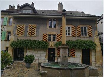 EasyWG CH - Joli appartement dans une maison villageoise à partager, Milvignes - 900 CHF / Mois
