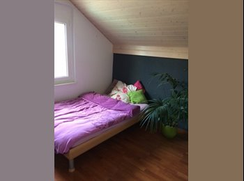 EasyWG CH - Belle chambre près de Fribourg, Corjolens - 300 CHF / Mois