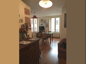 EasyWG CH - Neuchâtel-centre: Très beau 2 pcs à louer - lumineux/cachet, Neuchâtel - 1450 CHF / Mois