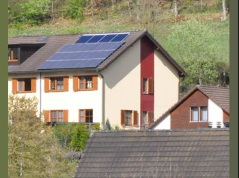 EasyWG CH - 2 Zimmer in 5-Zimmer-Einfamilienhaus an ruhiger Lage, Baden - 1200 CHF / Mois