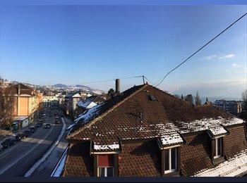 EasyWG CH - Chambre à louer à Lausanne Centre - date à convenir, Lausanne - 850 CHF / Mois