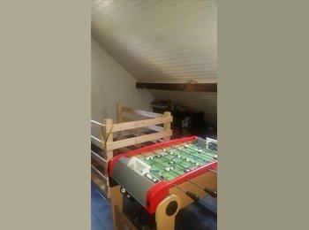 EasyWG CH - Chambre meublé avec grand salon à louer dans les combles, Neuchâtel - 700 CHF / Mois