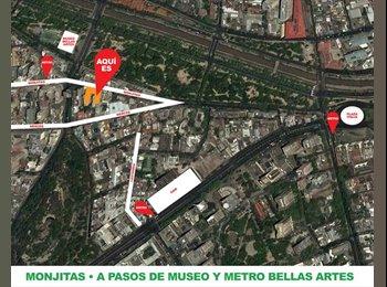 CompartoDepto CL - Comparto depto en Bellas Artes, Santiago de Chile - CH$ 0 por mes