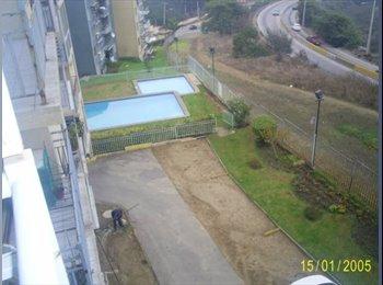 CompartoDepto CL - Se necesita persona para compartir depto. - Viña del Mar, Valparaíso - CH$ 114 por mes