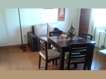 Se ofrece habitacion departamento en Ñuñoa