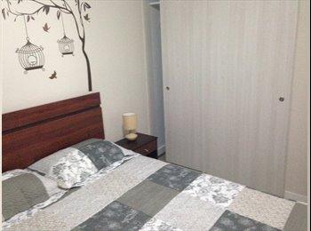CompartoDepto CL - Alquilo habitación en departamento nuevo , Santiago de Chile - CH$ 150 por mes