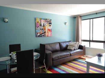 Fabuloso departamento en Santiago, Dos habitaciones.