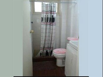 Piezas (suite) amplias y amobladas, luminosas con baño...