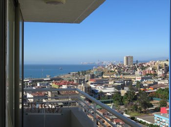 Comparto Depto en Geopark Valparaiso con estudiante o...