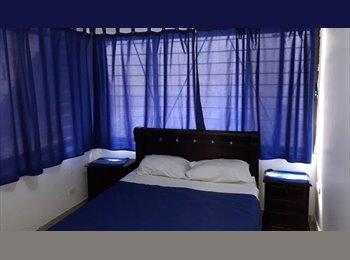 CompartoApto CO - Habitacion por meses en Crespo, Cartagena - COP$600 por mes