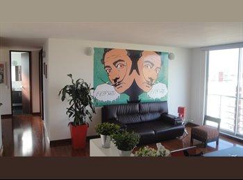 CompartoApto CO - arriendo habitación sencilla en penthouse  nuevo con baño independiente - Zona Norte, Bogotá - COP$0 por mes
