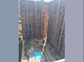 CompartoApto CO - Apartamento en Ciudad del Río- Un. Plazas del Río - cerca a Monterrey, Eafit, Museo de Arte , Medellín - COP$0 por mes