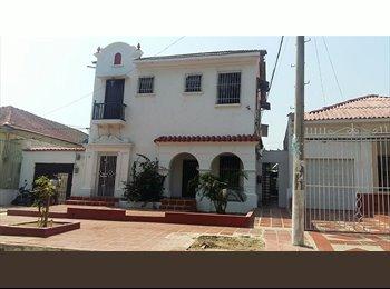 CompartoApto CO - arriendo linda habitacion amoblada - Barranquilla, Barranquilla - COP$0 por mes