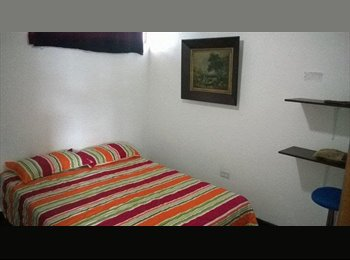 Habitacion amoblada con balcon