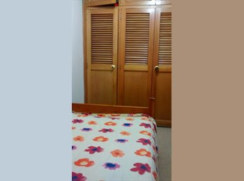 CompartoApto CO - Two furnished bedrooms available in a cozy apartment, well located in the -Laureles Estadio neighbor, Medellín - COP$499 por mes