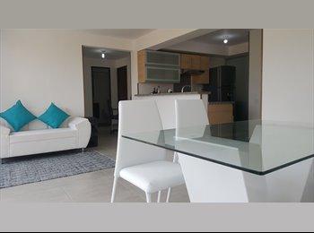 CompartoApto CO - Habitacion cómoda, moderna frente a Foscal Fosunab, Bucaramanga - COP$650.000 por mes