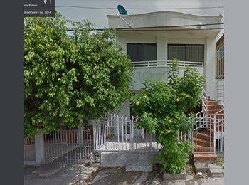 CompartoApto CO - Se Arrienda Habitación En Apto Cerca a Manga Barrio Paraguay , Cartagena - COP$500.000 por mes