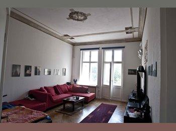 EasyWG DE - Suche netten Untermieter/in für 1 Zimmer 28qm mit Balkon 4,5 qm im Altbau, 2min vom Kuhdamm - Wilmersdorf, Berlin - 440 € pm