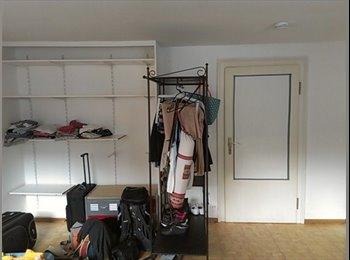 EasyWG DE - helles teilmöbliertes Zimmer am Main - Sachsenhausen Nord, Frankfurt - 300 € pm
