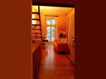 EasyWG DE - Helles WG Zi. 18qm mit Balkon, 420,- € warm, 2er WG, Hochbett, in 130qm Altbauwng, Wohnküche, Vollba - Charlottenberg, Berlin - 420 € pm