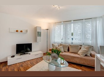 EasyWG DE - Hochwertige 1-Zi-Wohnung, sehr schöner Balkon - Rissen, Hamburg - 470 € pm