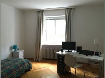 EasyWG DE - Zimmer in 95qm WG + Garten in München-Harlaching - Untergiesing Harlaching, München - 418 € pm