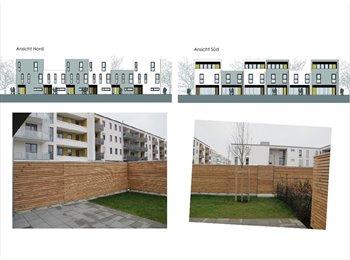 EasyWG DE - Neubau in Messestadt Riem mit 36qm Wohnzimmer Design EBK - Trudering-Riem, München - 600 € pm