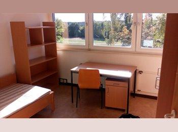 EasyWG DE - Helles & günstiges möbliertes Zimmer in 2er-WG, Wohnheim Tarostraße, Leipzig - 180 € pm