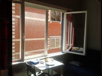 ruime, mooie kamer in een rustige omgeving