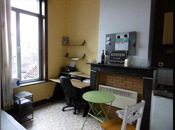 zeer rustige kamer veel licht en ideale ligging