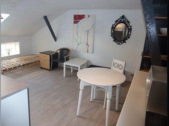EasyKot EK - nieuw ingerichte studio met grote badkamer, totaal 30m², Gent-Gand - € 475 p.m.
