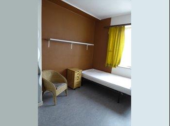 gemeubelde kamer in goed verzorgd studentenhuis