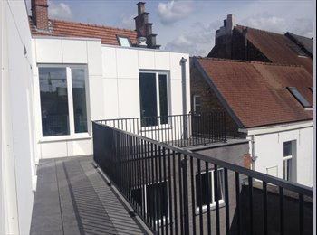 Nieuwe studio in charmant gebouw op toplocatie - 505 euro...
