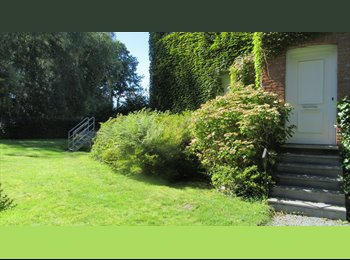 EasyKot EK - Grote mooie kamer in hernhuis met tuin, veel licht, Gent-Gand - € 360 p.m.