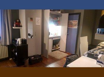 Studio met privebadkamer en keuken