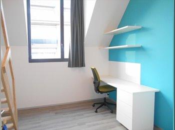 Nieuwbouw comfort-kamers in centrum van Leuven.