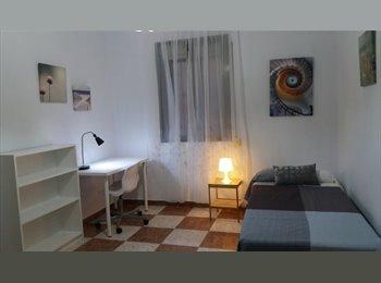 Habitación grande y luminosa en piso centrico