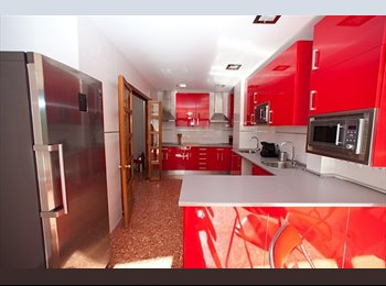 Habitación de uso doble en Casa Compartida.