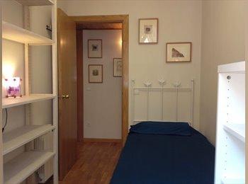 1 Habitación Individual en Alquiler / Single Room to Rent