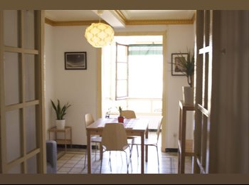 EasyPiso ES - VERY BIG DOUBLE SUITE IN BEAUTIFUL SUNNY APARTMENT (NOT FOR COUPLES), Barcelona - 480 € por mes